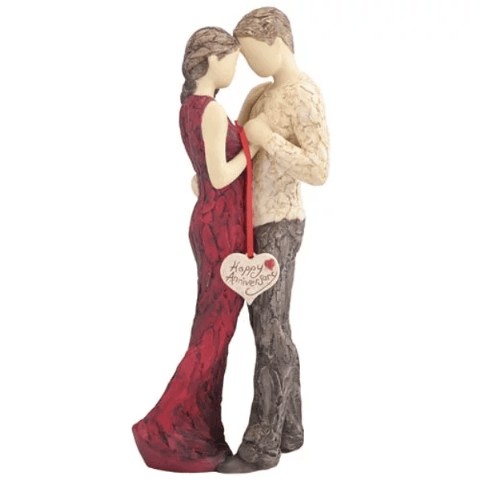 More Than Words Happy Anniversary Figurine